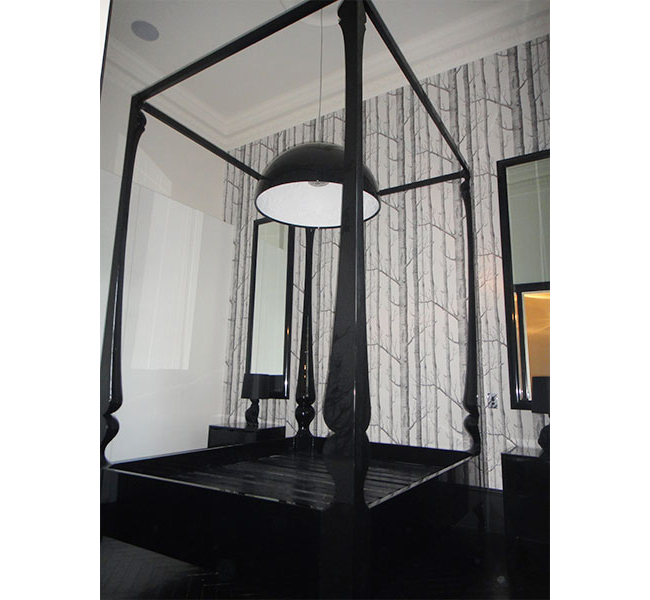 Custom Louis Four Poster Bed  3 Meters Tall