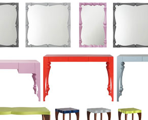 New colours for the Louis and Victoria and Albert Collections coming soon