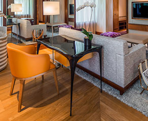 SKETCH desks installed at the Sentosa Resort and Spa, Singapore