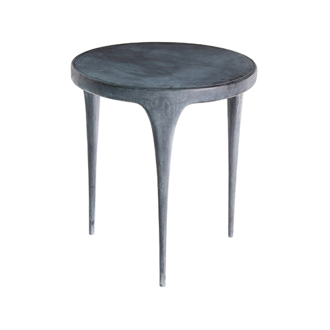CAST Round Side Table Metal Top