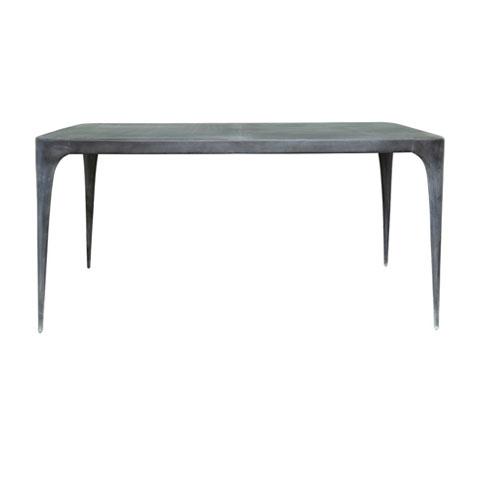 CAST Rectangular Dining Table Metal Top