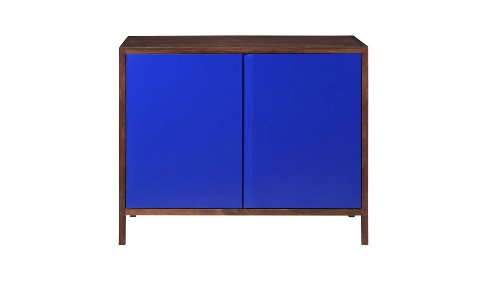Lacquer and Walnut Cabinet