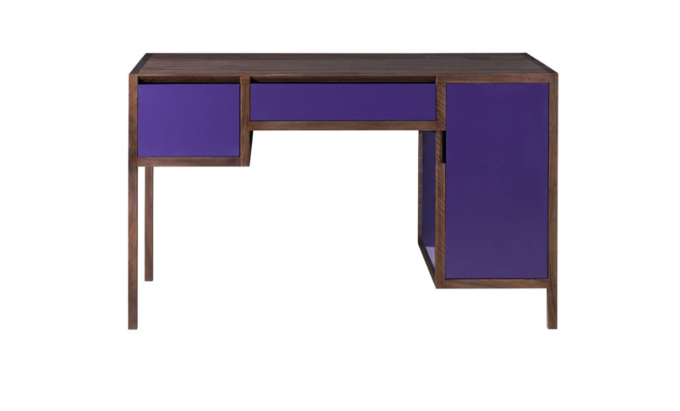 Lacquer And Walnut Dressing Table S Reeves Design