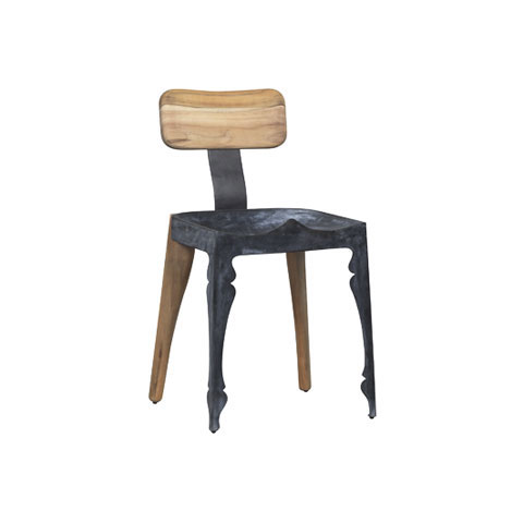 Louis Hybrid Zinc Chair