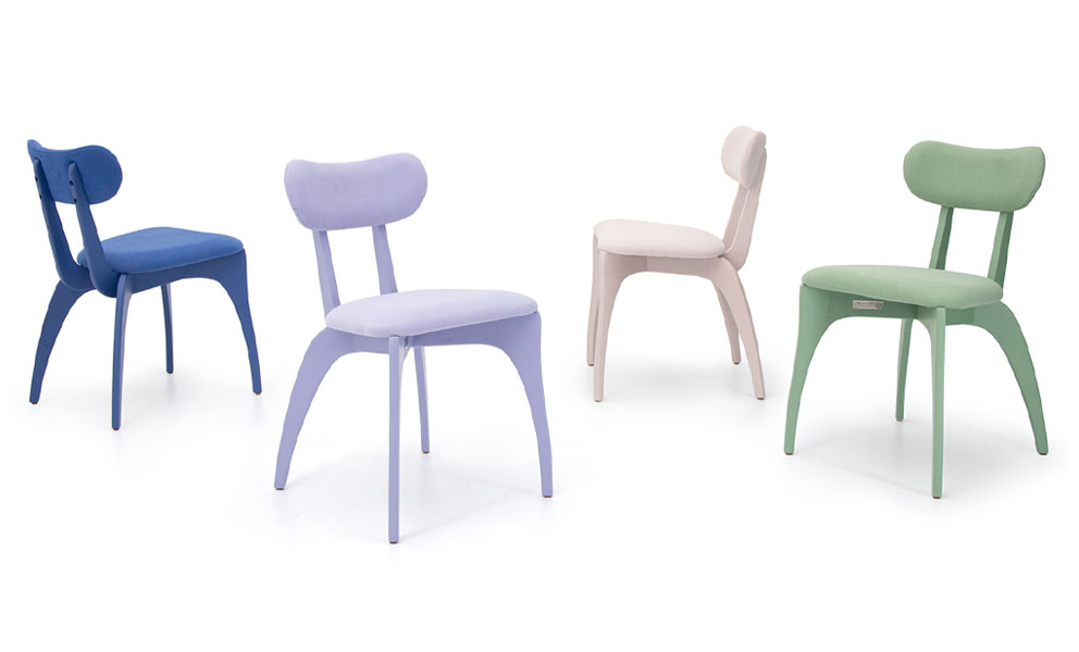 Talon Slot Colour Side Chair