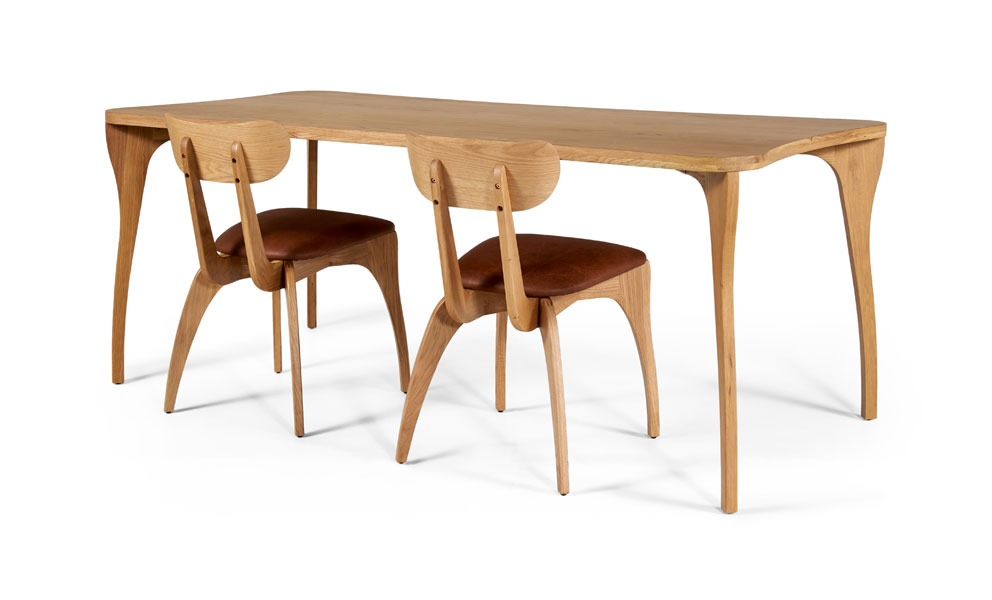 Talon Slot Dining Table