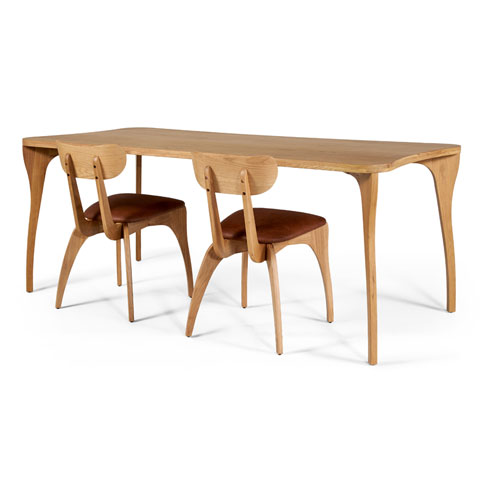 Talon Slot Dining Table