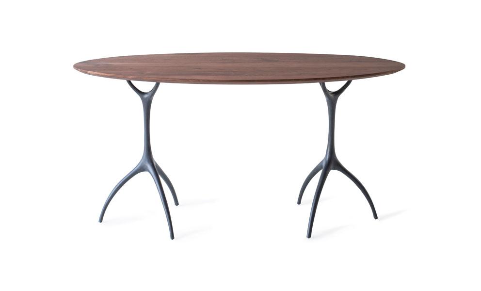 Talon Oval Desk