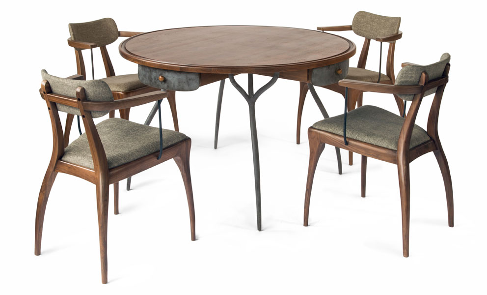 Round Card Table And Chairs Roundtables