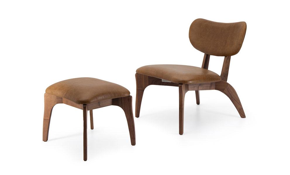 Talon Slot Petite Lounge Chair