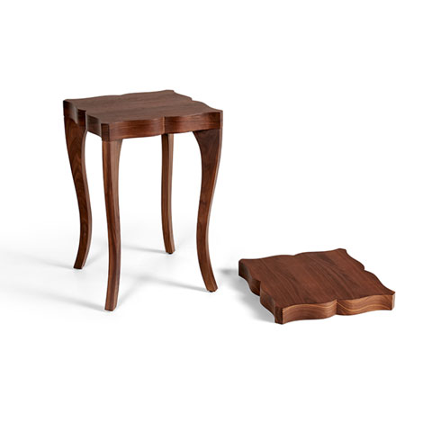 Victoria Solid Wood Side Table
